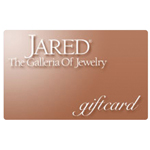 JARED THE GALLERIA OF JEWELERS<sup>&reg;</sup> $25 Gift Card
